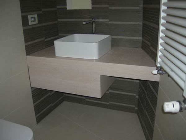 mobili da bagno firenze mobili da bagno su misura firenze ... - Mobili Bagno Con Lavabo Da Incasso