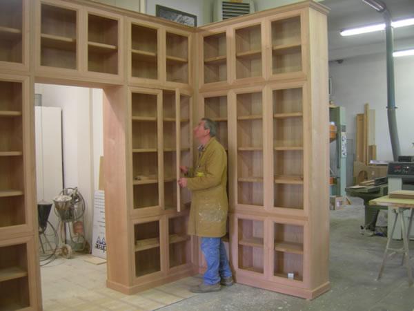 Libreria mobili immagini ispirazione sul design casa e - Mobile libreria a parete ...