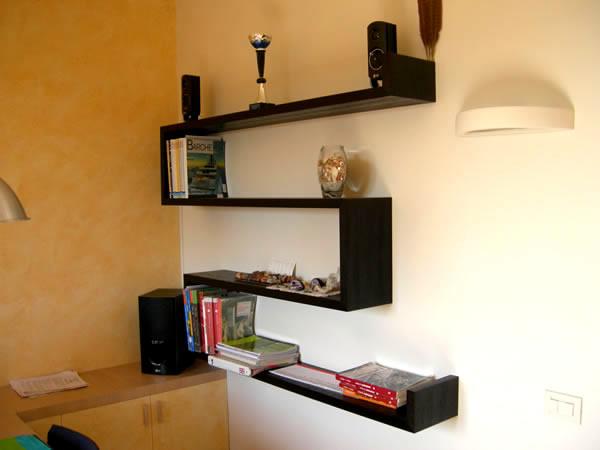 arredamento librerie firenze mobili librerie firenze librerie su ... - Pensile Soggiorno Wenge