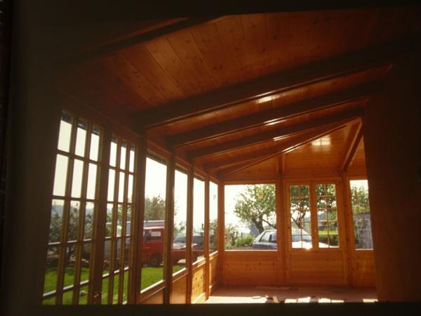 Verande per esterni firenze verande in legno firenze - Verande mobili per balconi ...