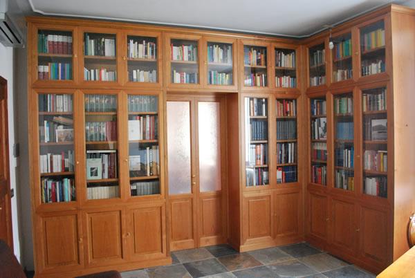 Arredamento librerie firenze mobili librerie firenze librerie su misura firenze librerie a parete - Mobile libreria a parete ...